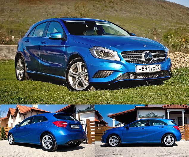 Тест-драйв двух моложавых Mercedes: хэтчбека A-класса и псевдокупе CLA. Фото 1