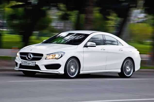 Тест-драйв двух моложавых Mercedes: хэтчбека A-класса и псевдокупе CLA. Фото 3