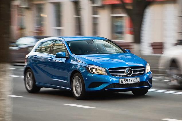 Тест-драйв двух моложавых Mercedes: хэтчбека A-класса и псевдокупе CLA. Фото 5