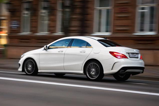 Тест-драйв двух моложавых Mercedes: хэтчбека A-класса и псевдокупе CLA. Фото 6