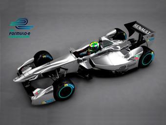 Формула-E показала новую машину
