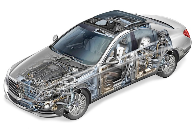 "Mercedes-Benz представил седан S-Class с ""магической"" подвеской"