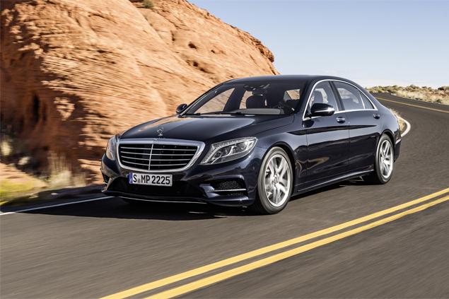 "Mercedes-Benz представил седан S-Class с ""магической"" подвеской. Фото 3"