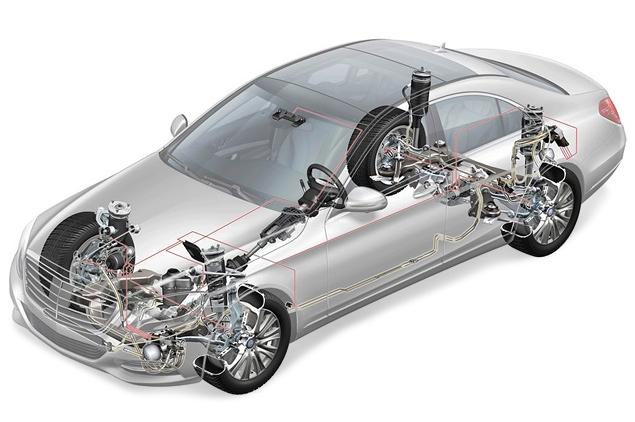 "Mercedes-Benz представил седан S-Class с ""магической"" подвеской. Фото 4"