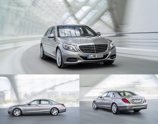 "Mercedes-Benz представил седан S-Class с ""магической"" подвеской. Фото 7"