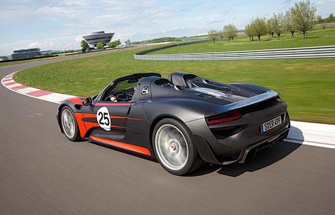 Модель 918 Spyder получит активную аэродинамику и полноуправляемое шасси. Фото 2
