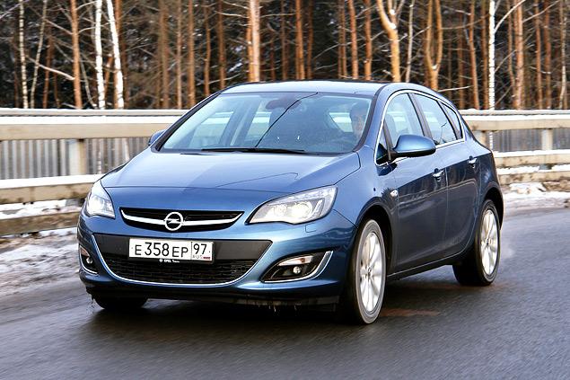"""Длительный тест Opel Astra: конкуренты из """"гольф-класса"""" и подсчет расходов. Фото 2"""