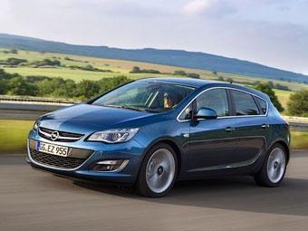 Семейство Opel Astra получило новый турбомотор