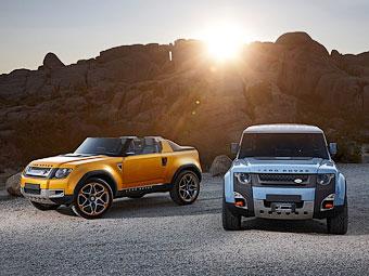 """Land Rover отказался от брутальных """"Дэфендеров"""""""