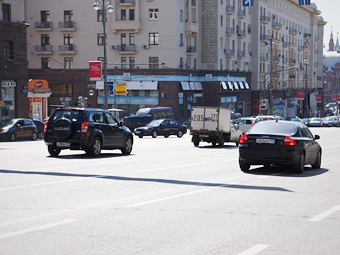 Московские дороги начнут вибрировать под нарушителями