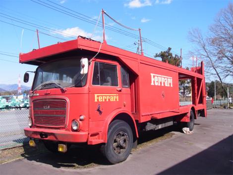 Грузовик перевозил болиды с 1969 по 1980 годы. Фото 1