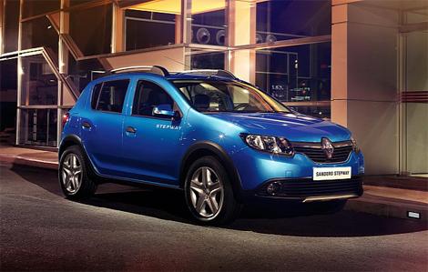 Появились первые фотографии двух версий хэтчбека Renault Sandero. Фото 2