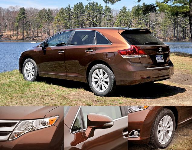 Зачем Toyota сделала неформатный автомобиль под названием Venza. Фото 1
