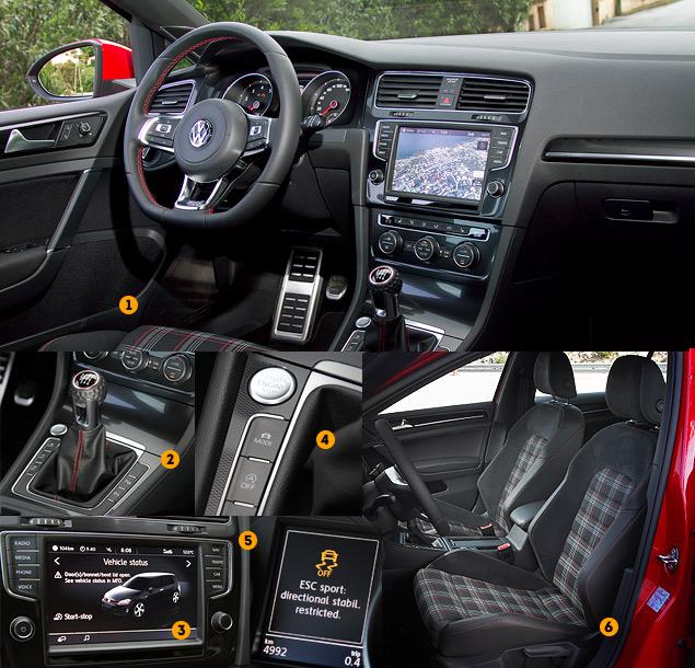 Знакомимся с самым практичным хот-хэтчем этого года: VW Golf GTI. Фото 4