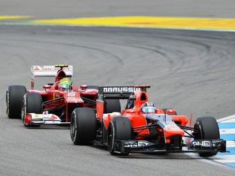 Команда Формулы-1 Marussia перейдет на моторы Ferrari