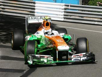 Force India заблокировала изменение шин Формулы-1