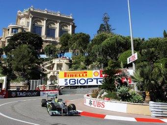 Пилоты Mercedes AMG начнут Гран-при Монако с первого ряда