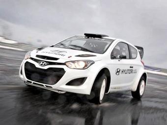 Раллийная команда Hyundai приступила к тестам гоночного i20