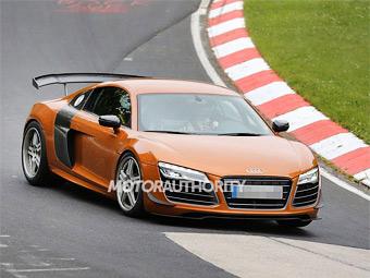 Audi готовит экстремальную версию суперкара R8