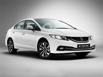 Обновленный седан Honda Civic доберется до России в июне
