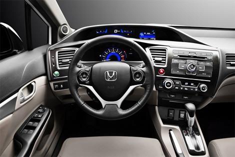 Компания Honda объявила комплектации обновленного Civic 4D для России. Фото 1