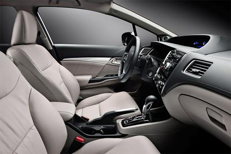 Компания Honda объявила комплектации обновленного Civic 4D для России. Фото 2