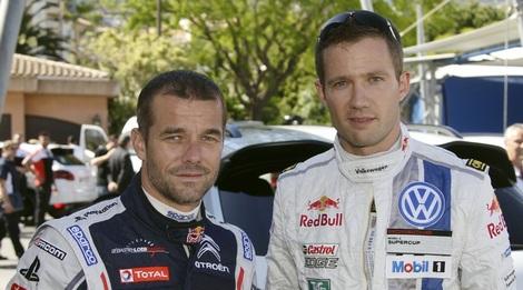 На городской трассе в Монако Себастьен Ожье на три позиции превзошел своего соперника по WRC