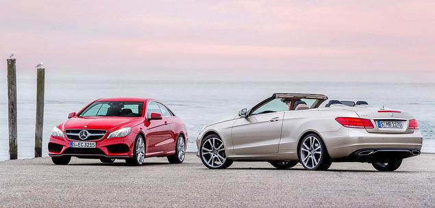 Расслабляемся за рулем обновленных купе и кабриолета Mercedes-Benz E-класса