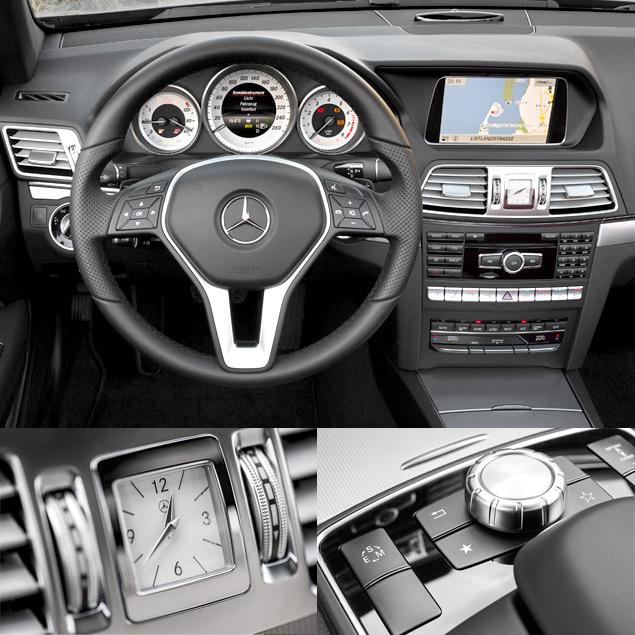 Расслабляемся за рулем обновленных купе и кабриолета Mercedes-Benz E-класса. Фото 1