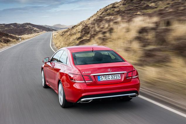 Расслабляемся за рулем обновленных купе и кабриолета Mercedes-Benz E-класса. Фото 9
