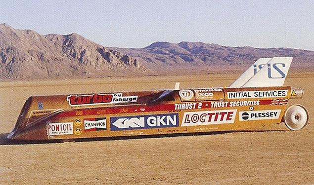 История рекордов скорости на суше: часть вторая. Фото 10