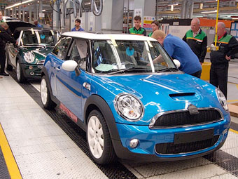 Автомобили MINI будут собирать в Китае