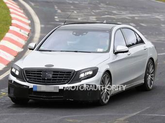 """Mercedes-Benz начал тесты """"заряженной"""" версии нового S-Class"""