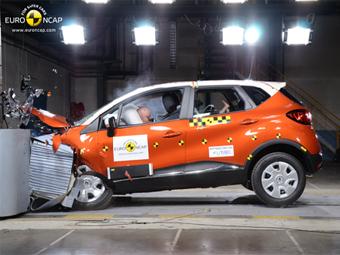 Euro NCAP разбил четыре новые модели