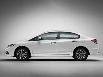 Обновленный седан Honda Civic подорожал на 30 тысяч рублей