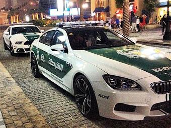 """Гараж дубайской полиции пополнился """"Мустангом"""" и BMW M6"""