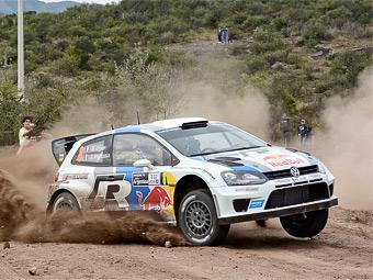 Инженеры починили ручник на раллийном Volkswagen Polo WRC