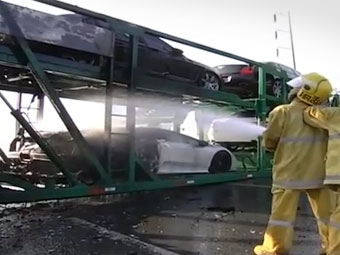 В Таиланде сгорели бесхозные суперкары на 3,3 миллиона долларов