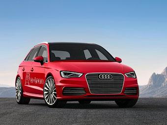 Audi запустит в серию гибридный хэтчбек A3