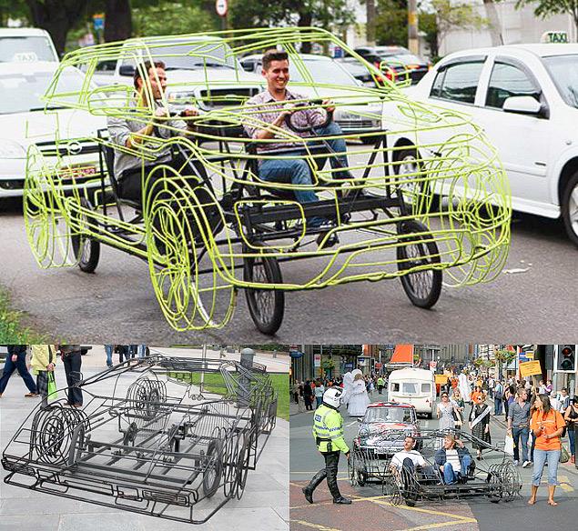 Самые необычные материалы в автомобильных экстерьерах. Фото 20