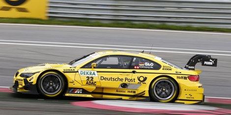 На гонке в Шпильберге экс-пилот Формулы-1 финишировал на третьем месте
