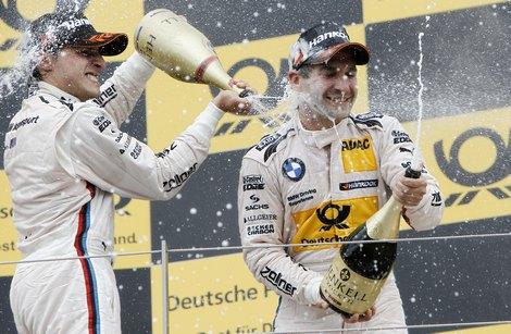 На гонке в Шпильберге экс-пилот Формулы-1 финишировал на третьем месте. Фото 1