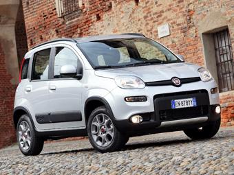 Fiat сделает из Panda компактный кроссовер