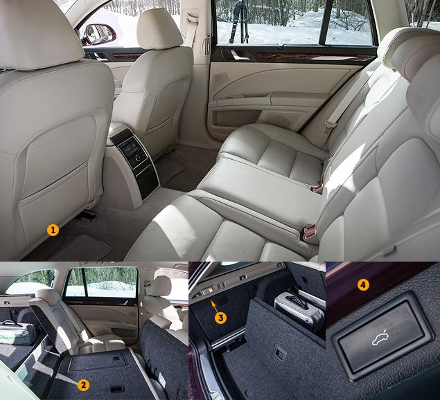 Длительный тест Skoda Superb Combi V6: конкуренты, стоимость владения и итоги. Фото 3