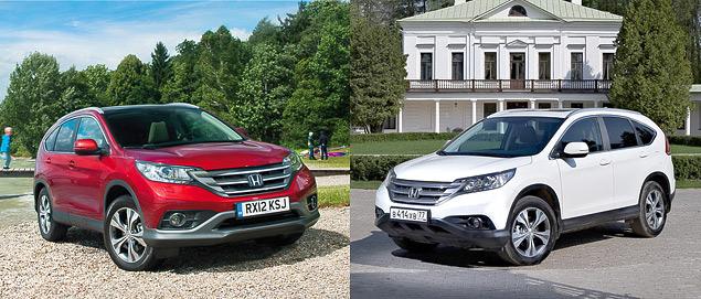 Ищем отличия кроссоверов Honda CR-V с моторами 2.0 и 2.4