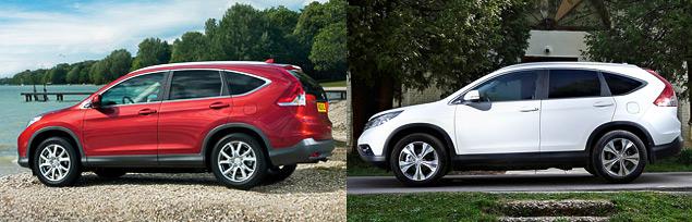 Ищем отличия кроссоверов Honda CR-V с моторами 2.0 и 2.4. Фото 1