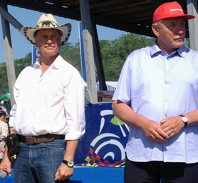 В Ростове прошли единственные в стране гонки на сельхозтехнике. Фото 2