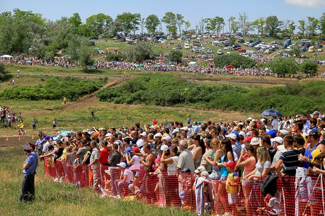 В Ростове прошли единственные в стране гонки на сельхозтехнике. Фото 9