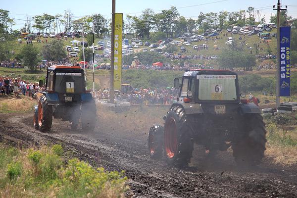 В Ростове прошли единственные в стране гонки на сельхозтехнике. Фото 15