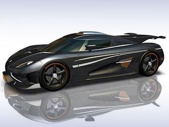 Появились изображения эксклюзивного гиперкара Koenigsegg